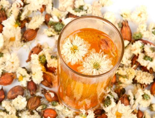 Cooling Chrysanthemum Tea